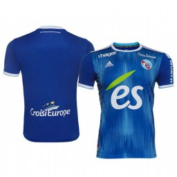 2019/20 Strasbourg Blue Home Authentic Jersey