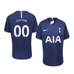 Youth 2019/20 Custom Tottenham Hotspur Away Navy Short Sleeve Authentic Jersey