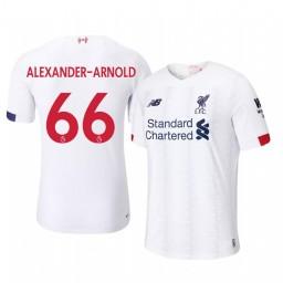 2019/20 Trent Alexander-Arnold Liverpool Away Short Sleeve Authentic Jersey