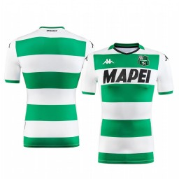 2019/20 U.S. Sassuolo Calcio 2019-20 White Green Away Short Sleeve Authentic Jersey