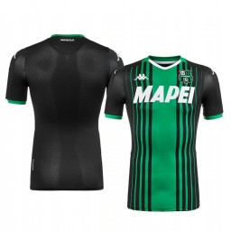 2019/20 U.S. Sassuolo Calcio 2019-20 Black Home Short Sleeve Authentic Jersey