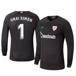2019/20 Unai Simon Athletic Bilbao Black Goalkeeper Authentic Jersey