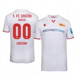 2019/20 Union Berlin Custom White Away Short Sleeve Authentic Jersey