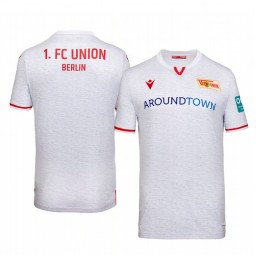 2019/20 Union Berlin White Away Short Sleeve Authentic Jersey