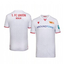 Youth 2019/20 Union Berlin White Away Short Sleeve Authentic Jersey