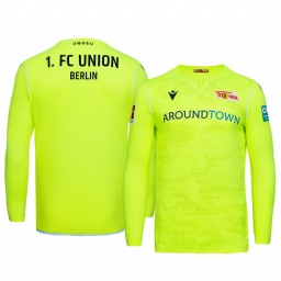 2019/20 Union Berlin Goalkeeper Green Official Short Sleeve Authentic Jersey
