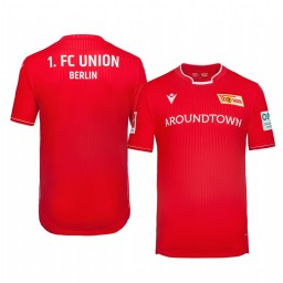 2019/20 Union Berlin Home Red Official Short Sleeve Authentic Jersey
