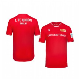 Youth 2019/20 Union Berlin Home Red Official Short Sleeve Authentic Jersey
