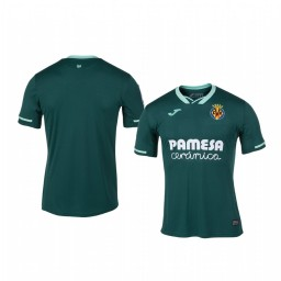 Youth 2019/20 Villarreal Green Away Short Sleeve Authentic Jersey