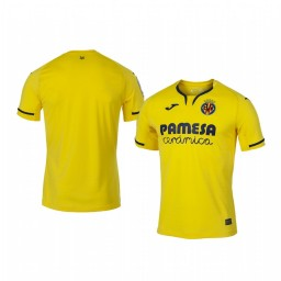 Youth 2019/20 Villarreal Yellow Home Short Sleeve Authentic Jersey