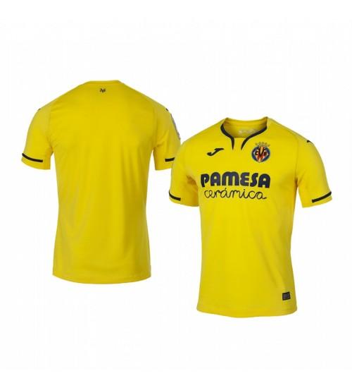 Youth 2019/20 Villarreal Yellow Home Short Sleeve Replica Jersey