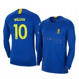 2019/20 Willian Chelsea Blue Fourth Authentic Jersey
