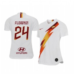 2019/20 Alessandro Florenzi AS Roma Away Short Sleeve Authentic Jersey