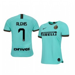 2019/20 Alexis Sánchez Internazionale Milano Away Short Sleeve Authentic Jersey