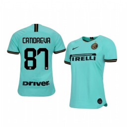 2019/20 Antonio Candreva Internazionale Milano Away Short Sleeve Authentic Jersey