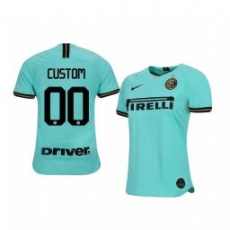 2019/20 Custom AS Roma Away Short Sleeve Authentic Jersey