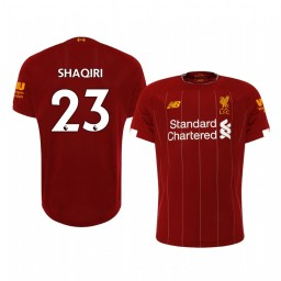2019/20 Xherdan Shaqiri Liverpool Home Short Sleeve Authentic Jersey