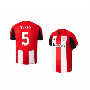 Youth 2019/20 Yeray Alvarez Athletic Bilbao Home Replica Jersey