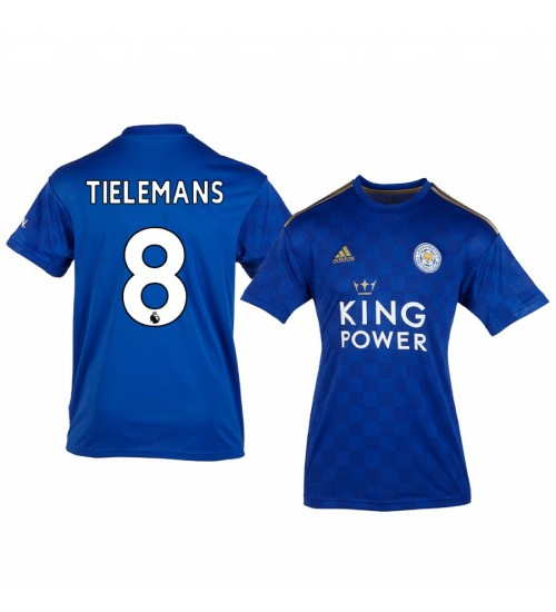 Youth 2019/20 Youri Tielemans Leicester City Home Replica Jersey
