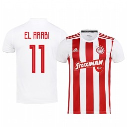 2019/20 Olympiacos Piraeus Youssef El-Arabi Home Authentic Jersey