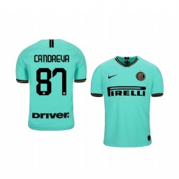 2019/20 Antonio Candreva Internazionale Milano Away Short Sleeve Replica Jersey