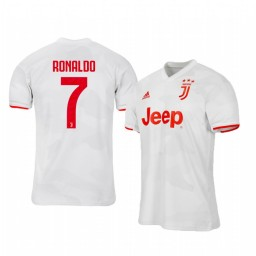 2019/20 Cristiano Ronaldo Juventus Away Short Sleeve Authentic Jersey