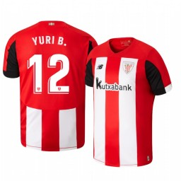 2019/20 Yuri Berchiche Athletic Bilbao Home Authentic Jersey
