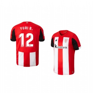 Youth 2019/20 Yuri Berchiche Athletic Bilbao Home Replica Jersey