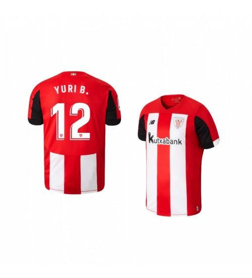 Youth 2019/20 Yuri Berchiche Athletic Bilbao Home Replica Jersey